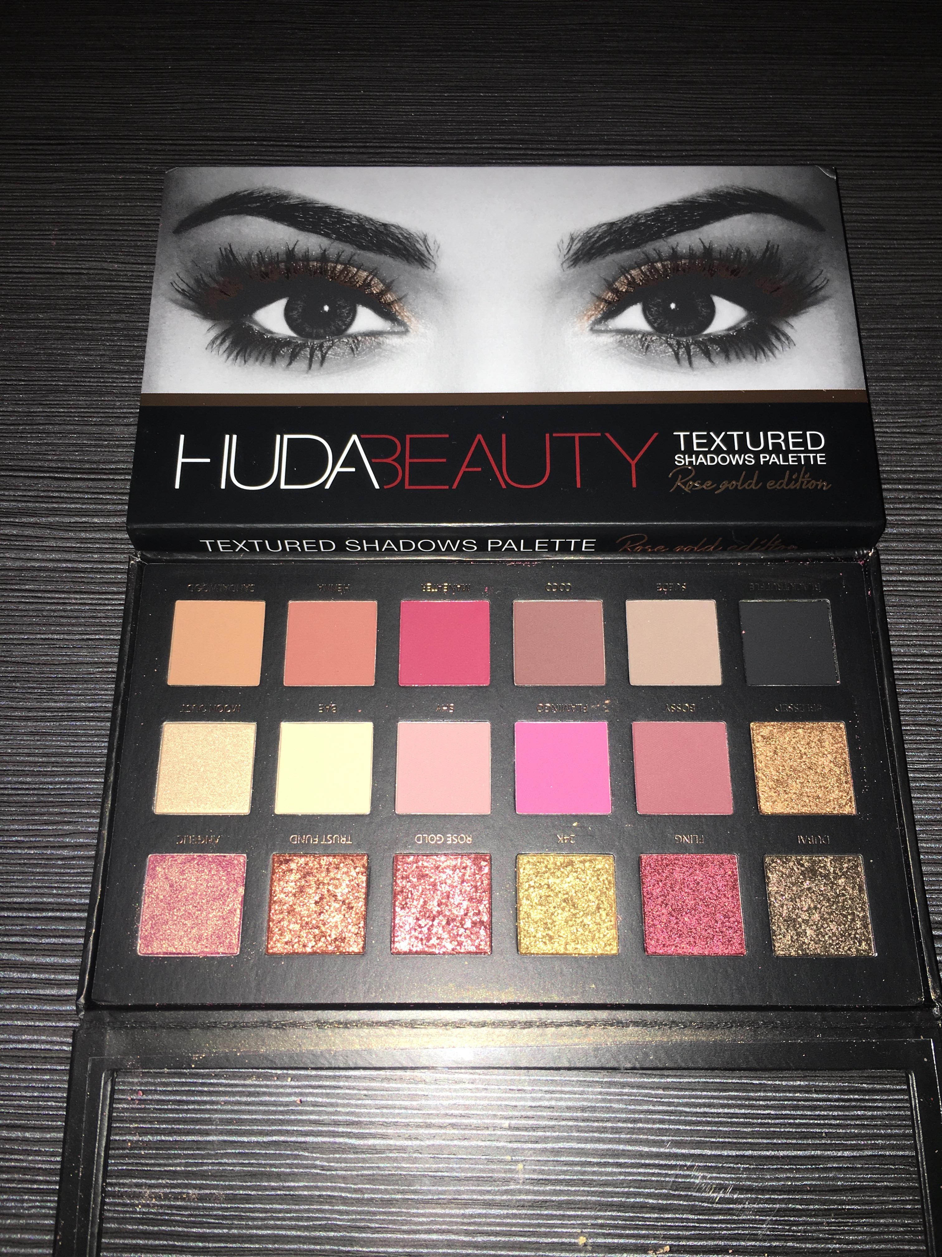 Huda Beauty Rose Gold Palette Review Ayshaxz